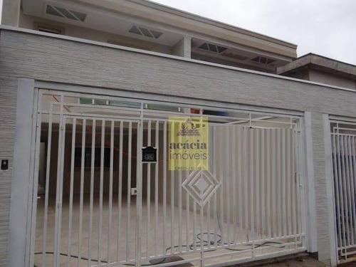 Imagem 1 de 19 de Sobrado Com 3 Dormitórios À Venda, 160 M² Por R$ 720.000,00 - Jardim Santa Mônica - São Paulo/sp - So1689