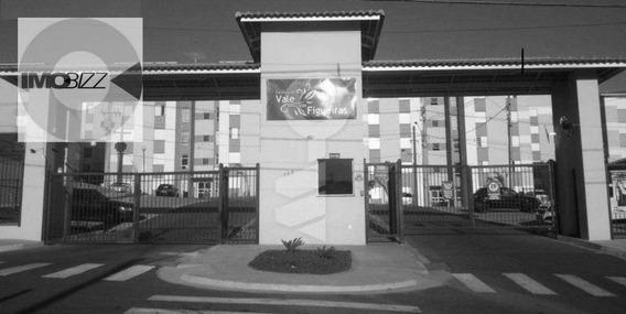 Apartamento Residencial Para Venda E Locação, Condomínio Vale Das Figueiras, Valinhos. - Ap0600