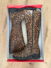 Botas Animal Print Saverio Di Ricci N37