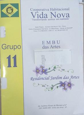Grupo 11 Cota Cooperativa Vida Nova Embu Das Artes.