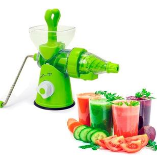 Extractor De Jugo Manual Para Verduras Y Frutas Ideal Y Sano