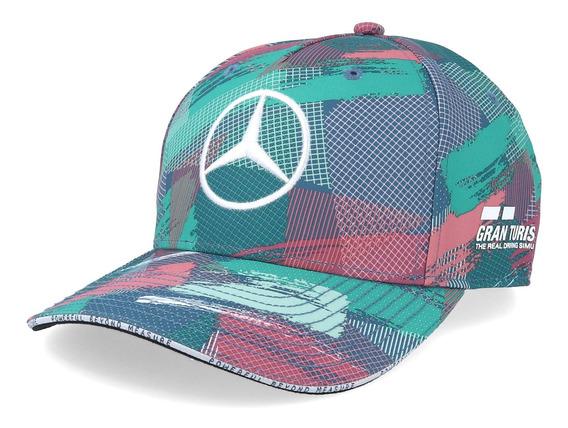 Gorra Lewis Hamilton F1 Mercedes Barcelona 2019 Camuflaje