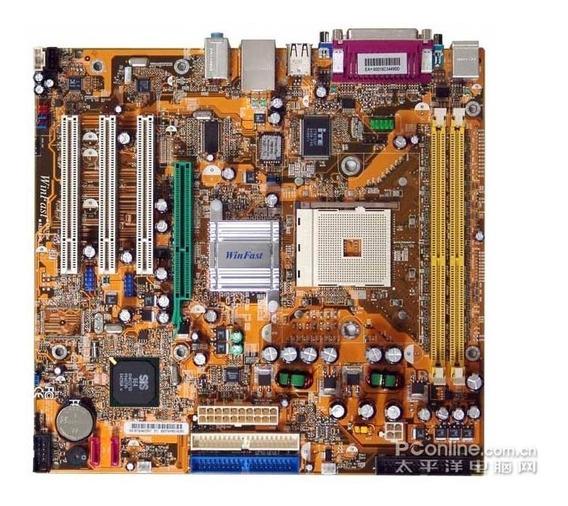 Kit Placa Mãe E Processador Amd Athlon 3000 E Cooler