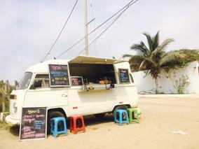 Food Truck Volkswagen Combi Kombi Sanguchera
