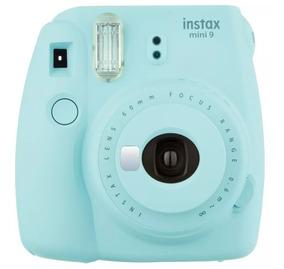 Câmera Fujifilm Instax Mini 9 Azul Aqua