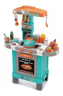 Juguete Cocina Little Chef Set Kids Niño Sonido Y Luces