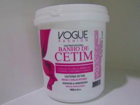 Máscara Banho De Cetim 1kg - Vogue Cosméticos