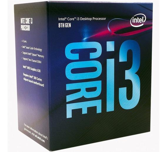 Micro Procesador Intel Core I3 8100 1151 Coffee Lake Xellers