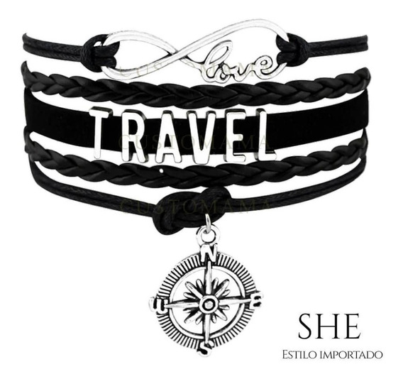 Pulsera Brazalete Infinity Love Travel