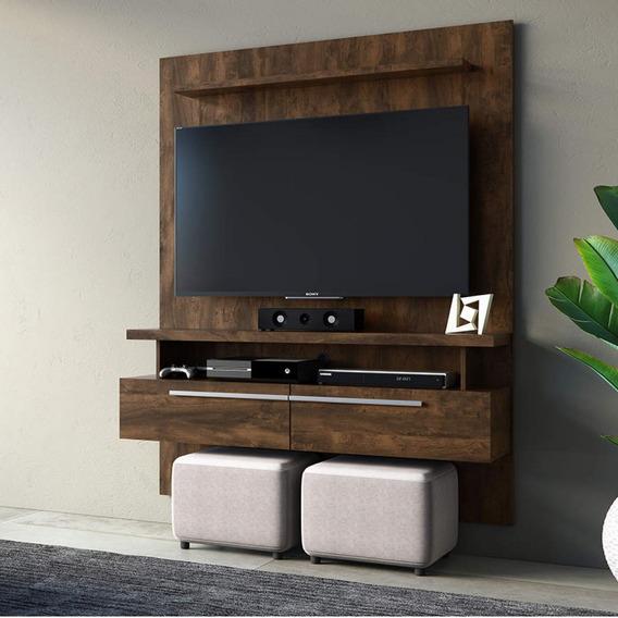 Painel Home Para Tv Até 60 Polegadas 2 Portas Caju Hf