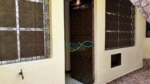 R$ 700,00 - Boa Kitnet Em Vila Estritamente Residencial Na Est. Do Quitungo - 45 M² - Kn0002