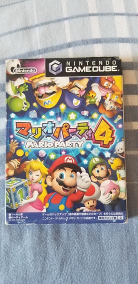 Mario Party 4 100% Original Completo - Gamecube