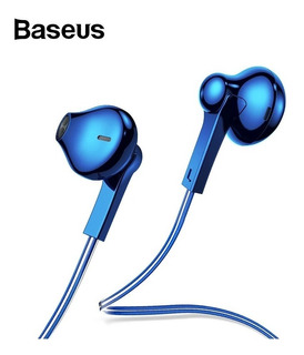 Fone De Ouvido Baseus Encock H03 Azul