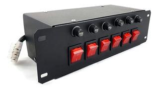 Controlador Para Aquário - 6 Canais - Indicador Luminoso