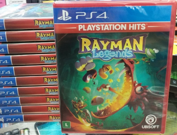 Rayman Legends Ps4 Mídia Física Novo Lacrado Original