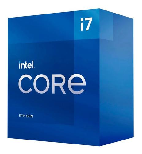 Micro Procesador Intel Core I7 11700 11va 8 Núcleos 4.9 Ghz