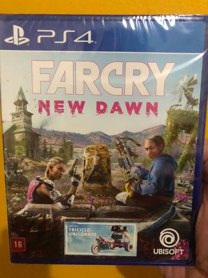 Far Cry New Dawn Ps4 Lacrado Dublado Br