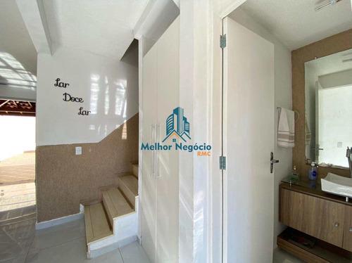 Imagem 1 de 21 de Casa Com 3 Dorms, Parque Villa Flores, Sumaré - R$ 404 Mil, Cod: Ca1186 - Vca1186