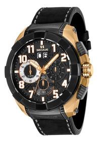 Relógio Masculino Seculus Upper Cronografo - 13009gpsvdc1