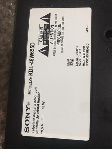 Imagen 1 de 3 de Tv Sony Smart 48 Pulgadas Para Repuestos