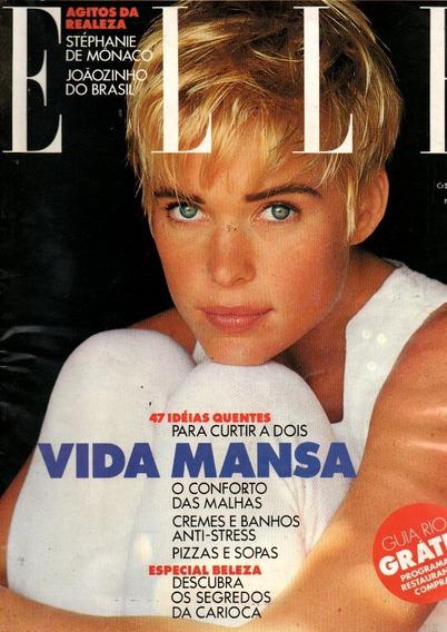 Revista Elle Stéphanie De Mônaco Nº 06 Jun 1991 (279)