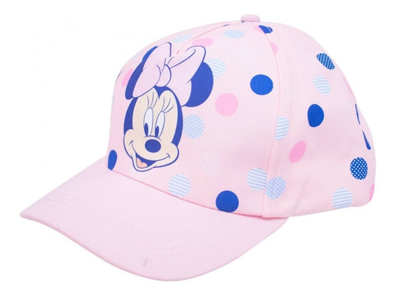 Boné Minnie Mouse Rosa Aba Curva Disney