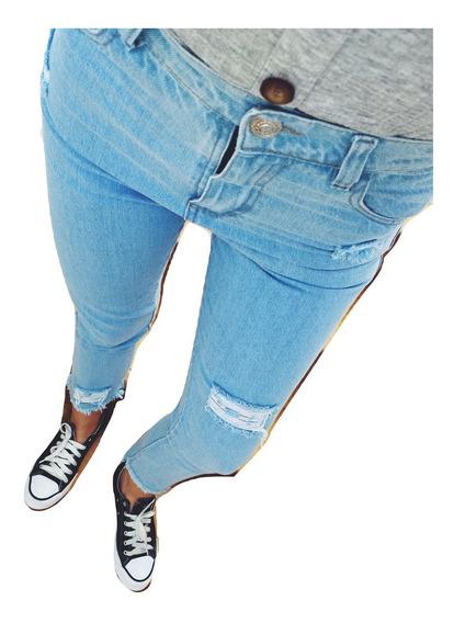 Jeans Mom Rotos Mujer Tiro Alto Vintage Rigidos 80s 90s Ii