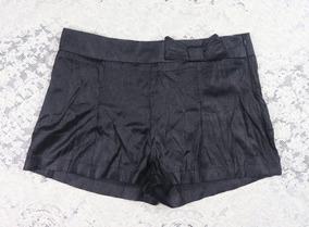 Short Preto Laço Fórum