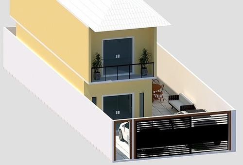 Casa 03 Quartos - Masterville, Sarzedo - Rg344