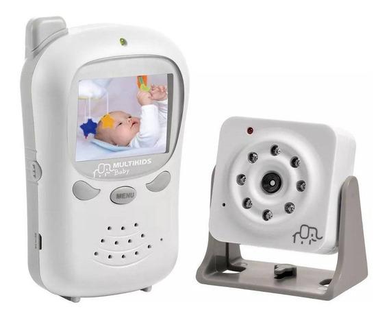 Baba Eletronica Sem Fio Digital Com Camera Multilaser Bb126