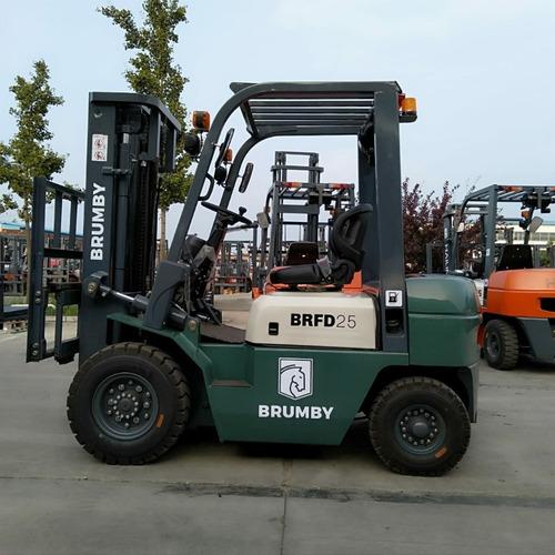 Autoelevador Brumby 2,5 Tn Torre 4,5m - Diesel Xinchai