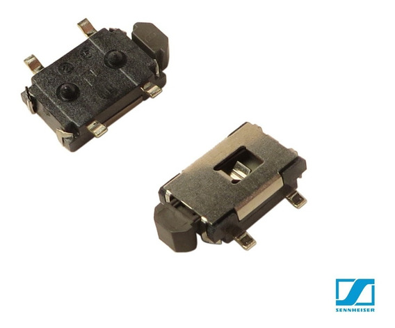 Chave Smd Sennheiser Ew100 Skm100 4polos 4x7mm - 2841/2842