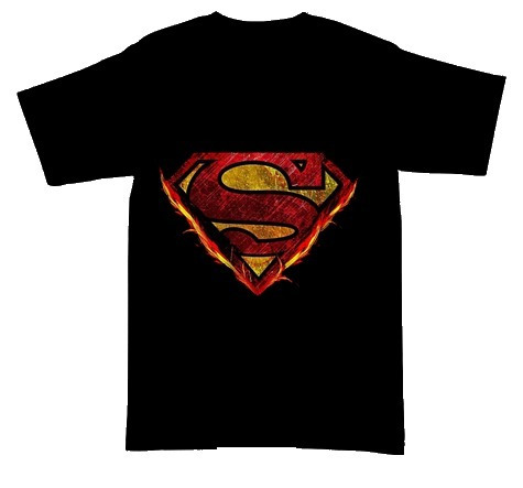 Playeras Camisetas Logos Superman Algodon 100% Beloma 4