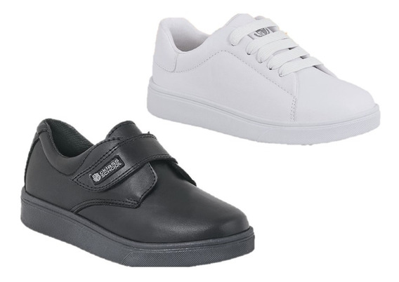 Zapatos Niño Escolares Formal Y Tenis 2 X 1 Cklass Incluye 2