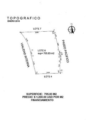 (crm-4510-2667) Cad Cima Real Lote Residencial Número 6, De 705 M²