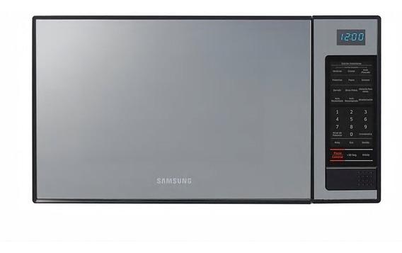 Horno Microondas 1.1 Pies Color Silver Marca Samsung