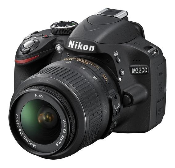 Kit De Fotográfia - Nikon D3200 Usada + Acessórios