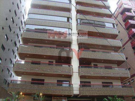 Apartamento Com 3 Dormitórios, 131 M² - Venda Por R$ 450.000,00 Ou Aluguel Por R$ 1.100,00 - Tupi - Praia Grande/sp - Ap0348