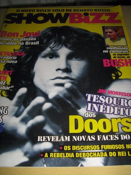 Revista Showbizz Nº 11 - Jim Morrison - Renato Russo