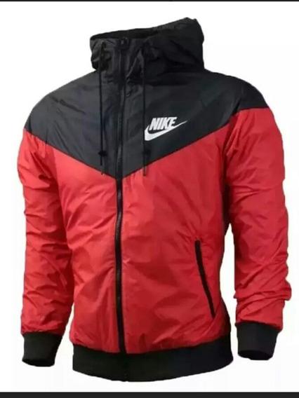 Jaqueta Nike Masculina Corta Vento Vermelhs
