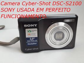 Câmera Sony Cyber-shot Dsc-s2100 12.1 Mega Pixels (promoção)