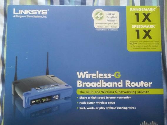 Roteador De Internet Wireless-g Broadband Router