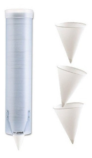 Dispensador Porta Conos Para Tomar Agua De 4 A 10 Onzas