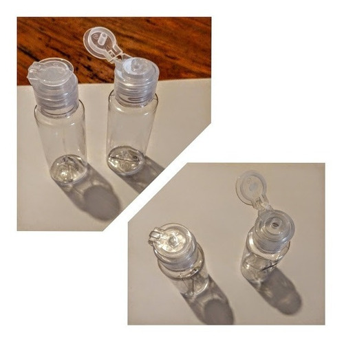 Imagen 1 de 2 de Envase Plástico Pet 30 Cc Jabón Shampoo, Alcohol X10