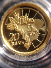 Moeda De Ouro E De Prata 500 Anos Do Descobrimento