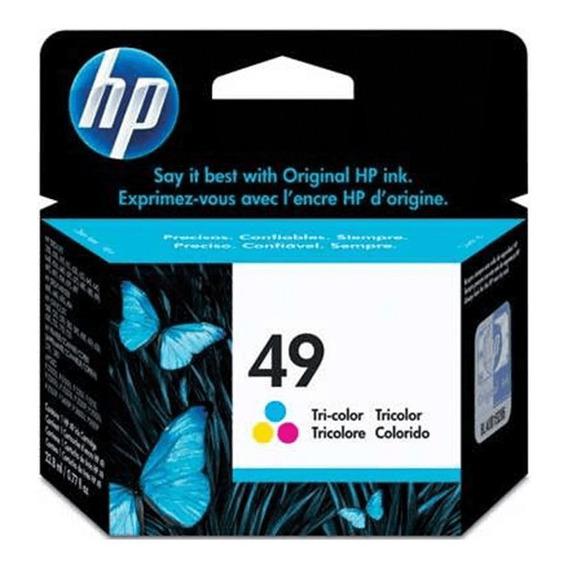 Cartucho Hp 49 Original 51649a Color   Officejet 500