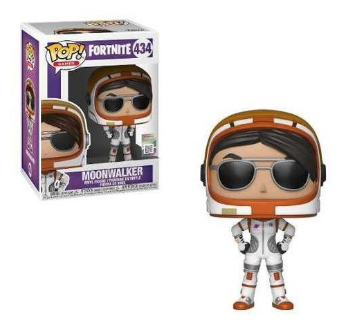 Muñeco Funko Pop Games Fortnite Moonwalker 434 Original