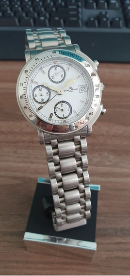 Relógio Suíco Baume Et Mercier Destra Automatico Chronografo