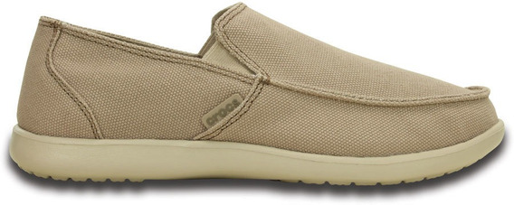 Crocs Originales Santa Cruz Clean Cut Loafer Khaki Hombre