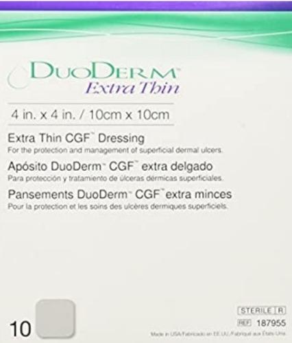 Parche  Duoderm.extra Thin.10x10cm.envios En El Pais